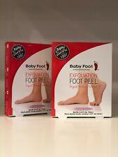 Baby Foot exfoliant foot peel lavender scented - Set of 2  Nib Sealed