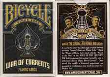 Bicycle War of Currents Playing Cards - Limited Edition - SEALED