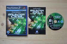Ps2-Tom Clancy's Splinter Cell: Chaos Theory - (scatola originale, con istruzioni)