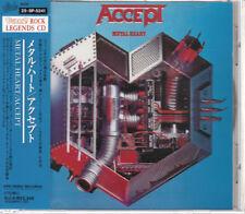 ACCEPT / METAL HEART JAPAN CD OOP W/OBI