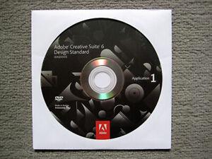 Adobe Creative Suite CS6 Design Standard für WIN