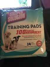 Simple Solution 14 Puppy Training Pads - Brand New in Packet
