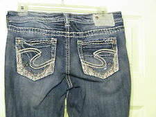 Silver Jean Co Aiko Boot Cut Jeans 27 x 33