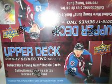 2016-17 UPPER DECK SERIES 2 HOCKEY RETAIL SEALED BOX