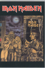 Iron Maiden Carte Postale Postcard DG 38
