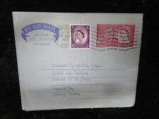 Cover Airmail Letter 1966- Rochester & Chatham Postmark, Addressed to Teneriffe