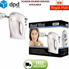 Wahl Hand Mixer, 5-Speed, 300W, Stainless Steel Beaters, Eject Button, White
