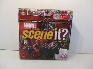 RARE MARVEL DELUXE EDITION SCENE IT IN A TIN - EXCELLENT CONDITION COMPLETE