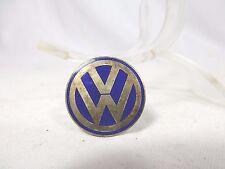 Schöne alte emaillierte Volkswagen VW-Anstecknadel / Brosche Käfer Bully