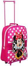Kinderkoffer Disney Minnie Mouse Trolley 38cm Neu