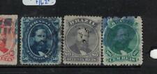 Brazil SC 56a-58b Blueish Paper VFU (7elu)
