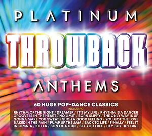 Platinum Throwback Anthems (2020) CD - EXCELLENT Condition - FREE UK DELIVERY