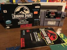 Jurassic Park Part 2: The Chaos Continues (Super Nintendo) Rental Copy SNES Snes