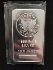 Silver bar 10 oz ounce Sunshine Mint