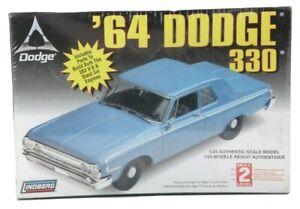 Lindberg '64 Dodge 330 1/25 Scale Model Kit 72176