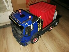 older Tamiya  1:14  RC VOLVO Flade Truck with load - really rare