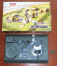 Vintage 1970's / 80's Airfix Model Kits ~ Cat No 1707 ~ GUN EMPLACEMENT ~ Boxed