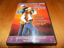 LINE DANCING INVITATION TO DANCE Wiley Hicks Country Music Dances CD DVD SET NEW