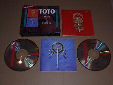 Toto - Toto IV & The Seventh One (2 x CD Box Set 1992) Fat Box