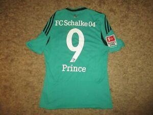 ADIDAS trikot FC SCHALKE 04 #9 PRINCE BOATENG shirt vtg oldschool GELSENKIRCHEN
