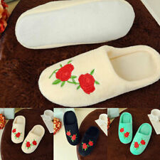 Embroidered Slippers Loafer Wedding Shoes Guest Slipper Shoes Warmer Shoes Women