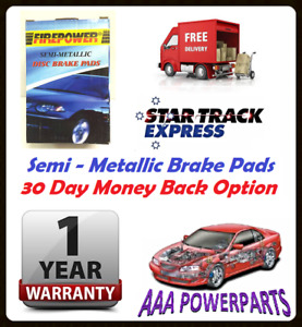 FRONT BRAKE PADS FOR SAAB 9-3 ARC 2.0T 2.0L TURBO 2002 - 2007