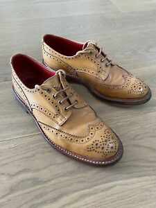 Trickers Bourton Acorn Leather Brogues