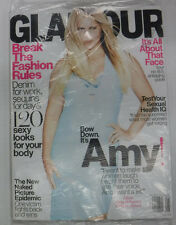 Glamour Magazine Amy Schumer Break The Fashion Rules SEALED August 2015 082015R