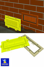 Airbrick Air Brick Flood Water Defence Protection Cover and Buff Frame