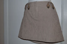 BCBG Max Azria size 6 brown mini skirt