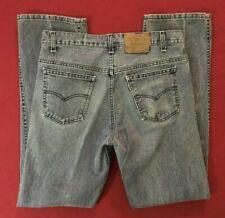 Vintage Levis 515 White Tab Blue Jeans mens 34x34