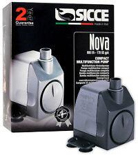 Bomba Sicce Nova 800L/h Tanque Acuario Nano Multifuncional fuente Cabezal