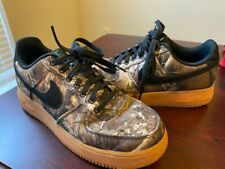 New listing Nike Realtree x Air Force 1 Low 'Tan Camo' Men's Size 8 - AO2441-001 - Very Nice