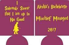 Harry Potter bachelorette party koozie mischief managed can coolers SP1568