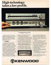 1981 Kenwood KA-80 Amplifier, KT-80 FM Tuner Stereo Hi-Fi Vtg Print Ad