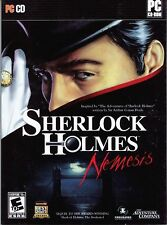 Sherlock Holmes NEMESIS PC Game CD-ROM Adventure NEW
