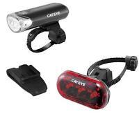 CATEYE CAT EYE HL EL135 & TL LD130-R  BIKE BICYCLE FRONT/REAR LIGHT NEW  IN BOX