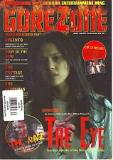 GoreZone UK Horror Magazine Issue 30 April 2008 The Eye Jessica Alba Argento