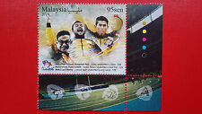 Malaysia Paralympics Golden Moments In RIO 2016 ( Stamp )