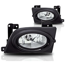 2006-2008 Honda Civic 4 Door Sedan OE Style Fog Light w/Wiring Kit - Clear