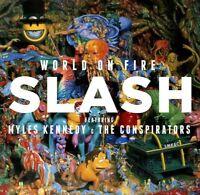 SLASH & MILES KENNEDY & THE CONSPIRATORS - WORLD ON FIRE CD *NEW*