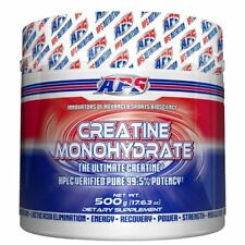 APS Nutrition Creatine Monohydrate 500g - 100 Servings STRENGTH RECOVERY ENERGY