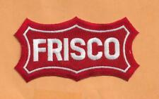 "OFFICIAL WILLABEE & WARD FRISCO ST LOUIS -SAN FRANCISCO RAILROAD 4 7/8"""