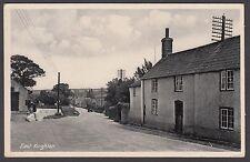 Postcard East Knighton near Lulworth Dorset village view posted 1944