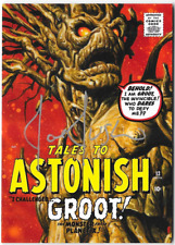 Marvel Masterpieces 2016 Joe Jusko Auto Autograph Card Groot What If #38 10/10