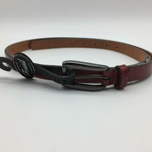"Fossil Women's Belt ""Genuine Fossil Classic"" Modern Patent Red"
