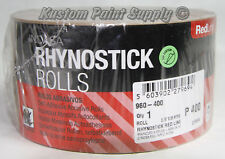 INDASA 400 Grit Sticky Back Long Board Sandpaper Rhynostick 960-400 (1 Roll)