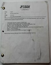 Robert Smigel / You Don't Mess with the Zohan, 2007 Movie Script, Adam Sandler