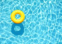 A3| Swimming Pool Floater Poster Print Size A3 Swim Vacation Poster Gift #14393