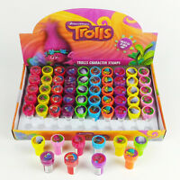 Trolls Self Inking Stamps Birthday Gift Party Favors Bag Filler Cumpleanos
